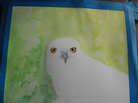 eagle work in progress Copyright Jennifer Rose Phillip