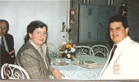 Dr.Flávio Madeira com a Juiza Federal Drª Salete Maria Polita Maccaluz