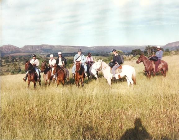 Cavalgada de Luiz Flávio Madeira e Amigos na Serra da Canastra
