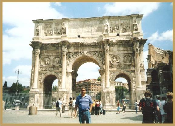 Flávio em Viagem à Roma