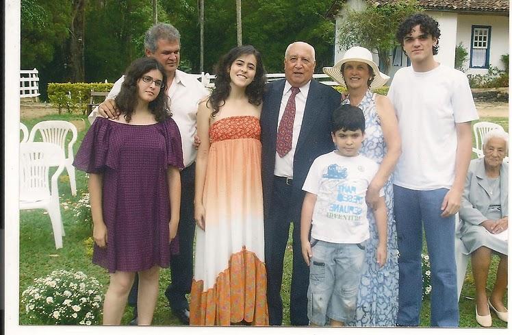 A Família de Luiz Flávio de Castro Madeira