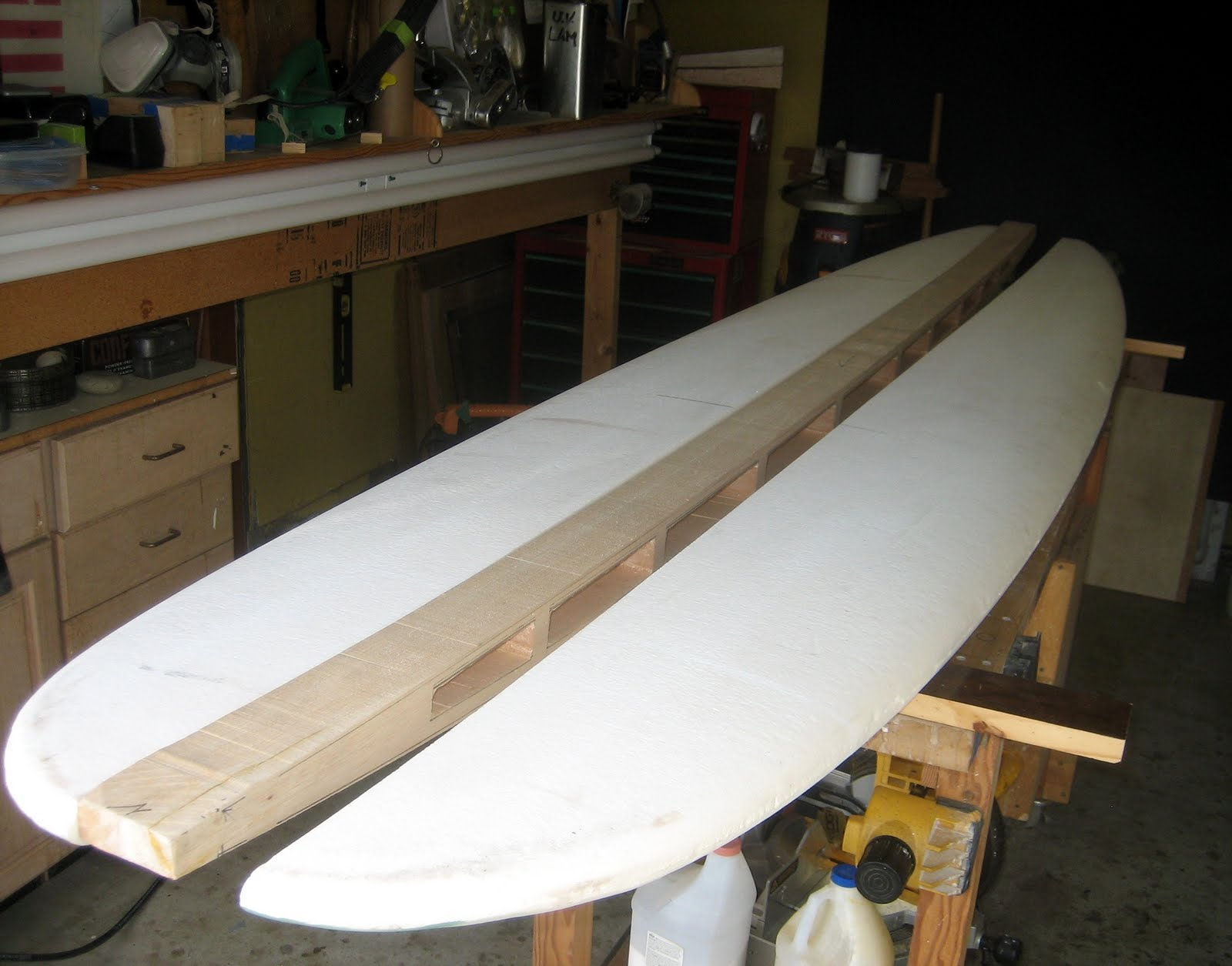 Cherry surfboards blog bigger wood 97 1962 hobie template the glue up pronofoot35fo Image collections
