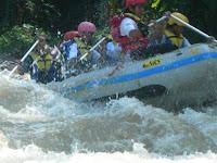 arung jeram sungai elo petualangan pic