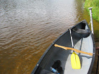 Canoe on the Gauja River in Latvia