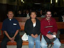 El clero Vetero presente en la reunión Ecumenica.