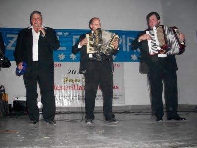 Omar López, Ariel Krause y Ernesto Roth