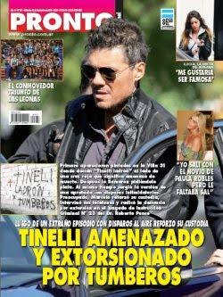 Revista pronto argentina for Revistas argentinas de farandula