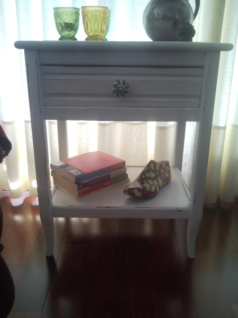 Vintouch muebles reciclados pintados a mano mesa de - Muebles pintados a mano fotos ...