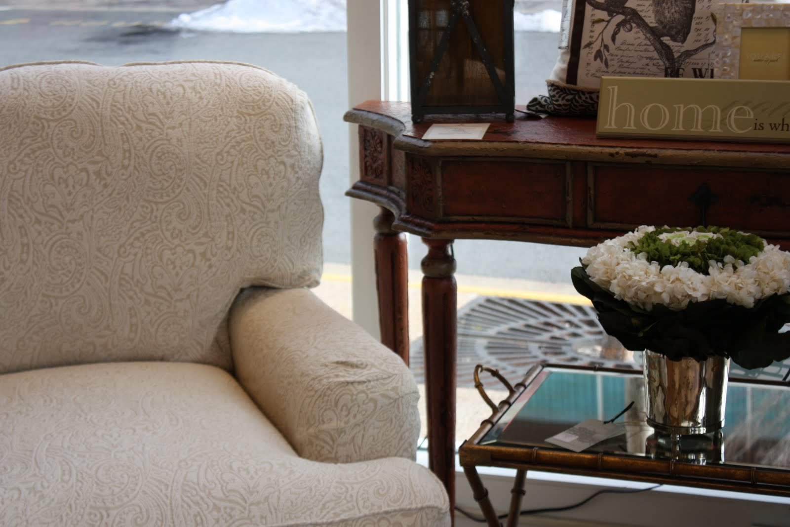 Talk About A Comfortable Chair To Curl Up In! Our New Dover Armchair From  The Rachel Ashwell Shabby Chic Collection By Miles Talbott Furniture  Arrived ...