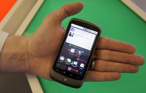 Google Nexus One Phone Keypad