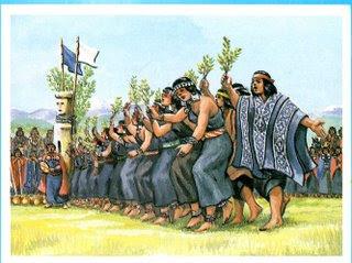 Costumbres Mapuche El Nguillatun on 2008 01 Archive