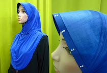 Tudung Permata Qistina L Size (Thai Silk Awning)