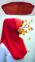 Tudung Lycra Plain Diamond