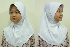 Tudung Lycra Plain (S size)
