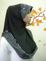 Tudung Denim Diamond Exclusive