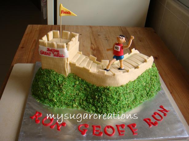 My Sugar Creations (001943746-M): Great Wall Marathon Cake