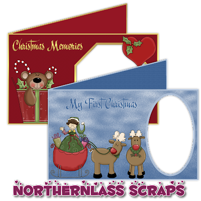 http://nothernlassscraps.blogspot.com/2009/12/freebie-christmas-cards.html