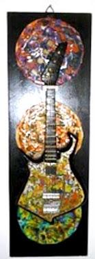 Guitarra baiana com captador