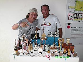 Alberto Cunha e Armandinho no Sarau du Brow