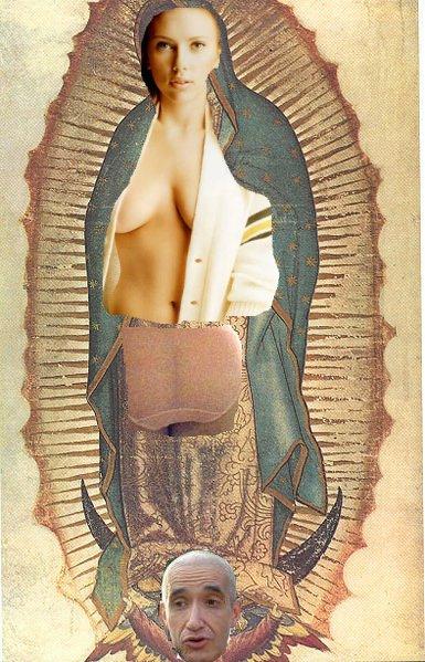 Of La Virgen Scarlett Est Algo Deforme Porque Le Puse Las Nalgas De