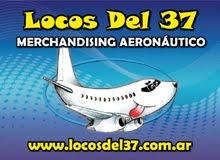LOCOS DEL 37 - Merchandising Aeronáutico