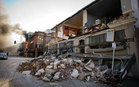 earthquake in new zealand christchurch. New Zealand earthquake: state