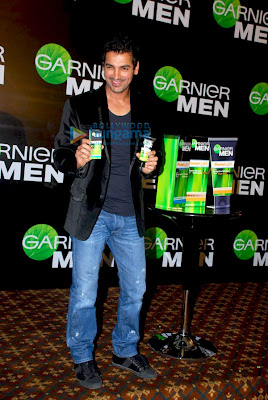 John Abraham endorses Garnier Men