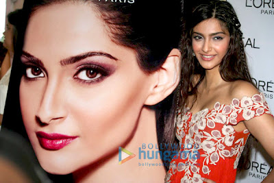 sonam kapoor is loreal's cover girl
