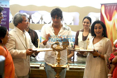 Chunky Pandey inaugurates Treasure jewel store