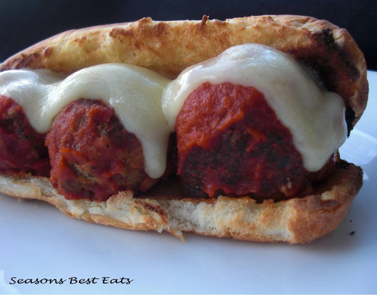 Season's Best Eats: Boss Meatball Sandwich
