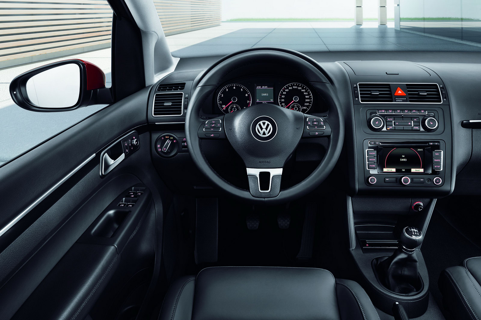 World Concept Cars 2011 Volkswagen Touran 7 Seater Mpv Receives Second Mid Life Facelift