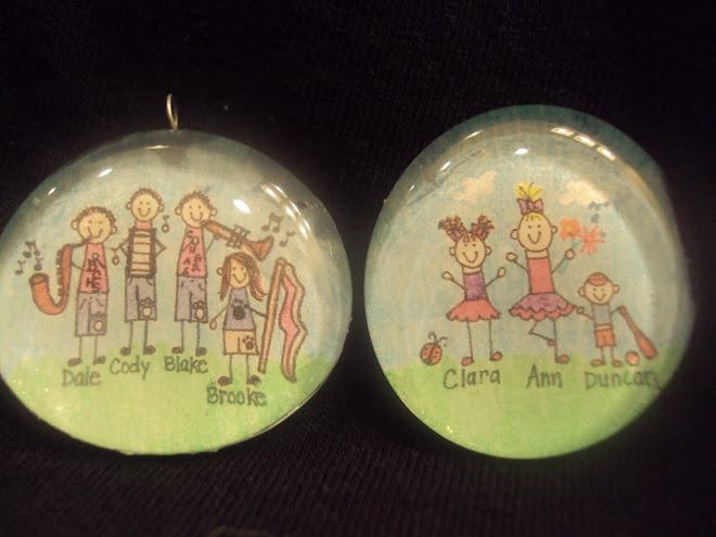 More doodle pendants...