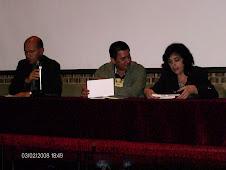 Con Ana María Shua y Henry González