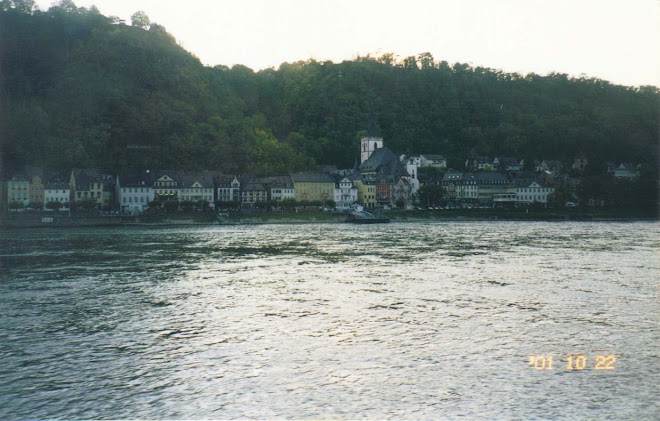 EU GERMANY River Rhine
