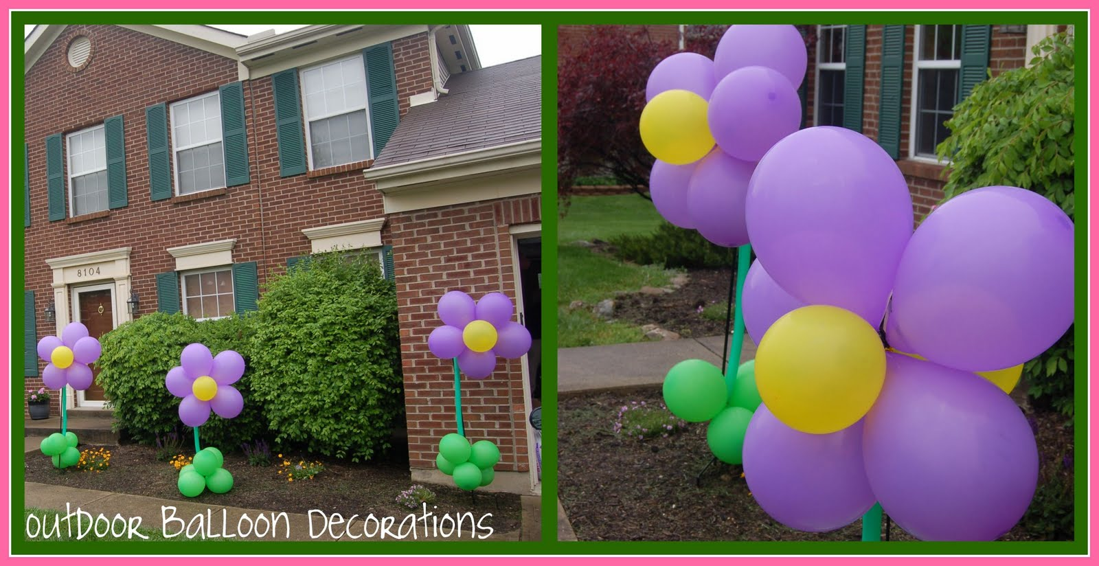 Be DifferentAct Normal: Flower Party Balloon Decor