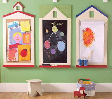 Be Different Act Normal Playroom Chalkboard Cork Board