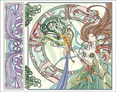 Beauty Art Nouveau