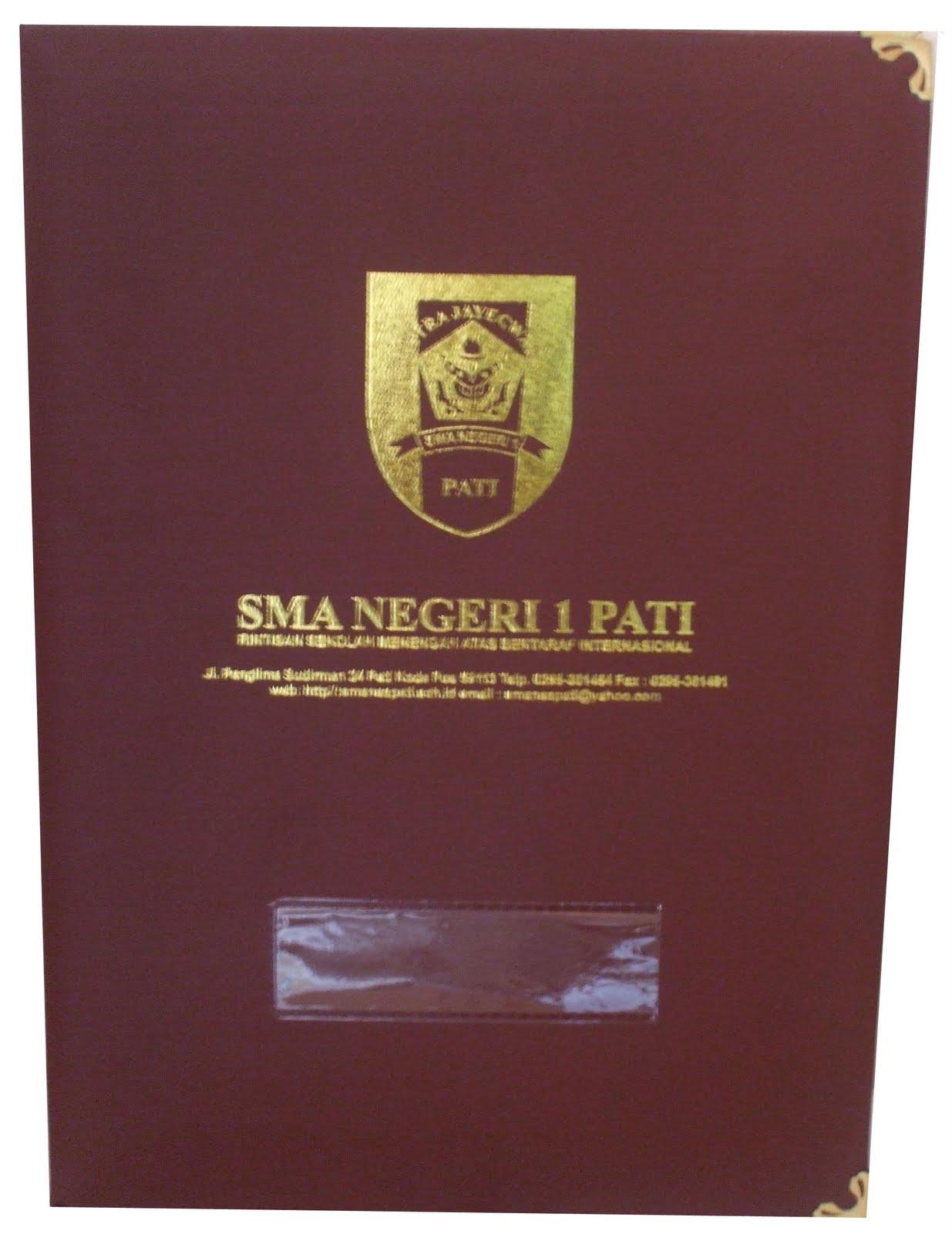 Contoh Map Ijazah SMA-SMK