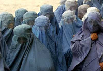 The Burqa that Women are Required to Wear