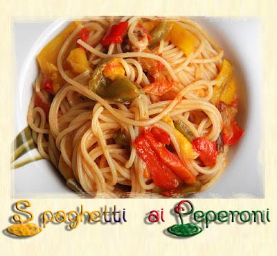La foresta incantata padellata di spaghetti ai peperoni - Cerco piastrelle fuori produzione ...
