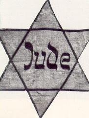 la vergonzosa insignia con las que se nos obligo a portarla en toda europa en los años 30