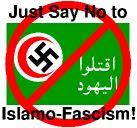 no al fascismo islamico en el medio oriente