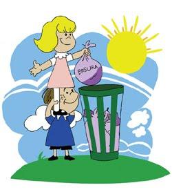 Cuida el medio ambiente, es nuestra vida.