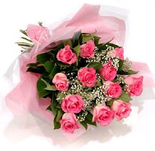 Adoro flores e essas vieram da amiga Ana. Obrigada querida.