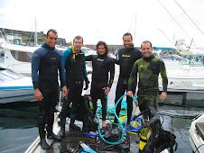 Ação de Limpeza na marina de Angra
