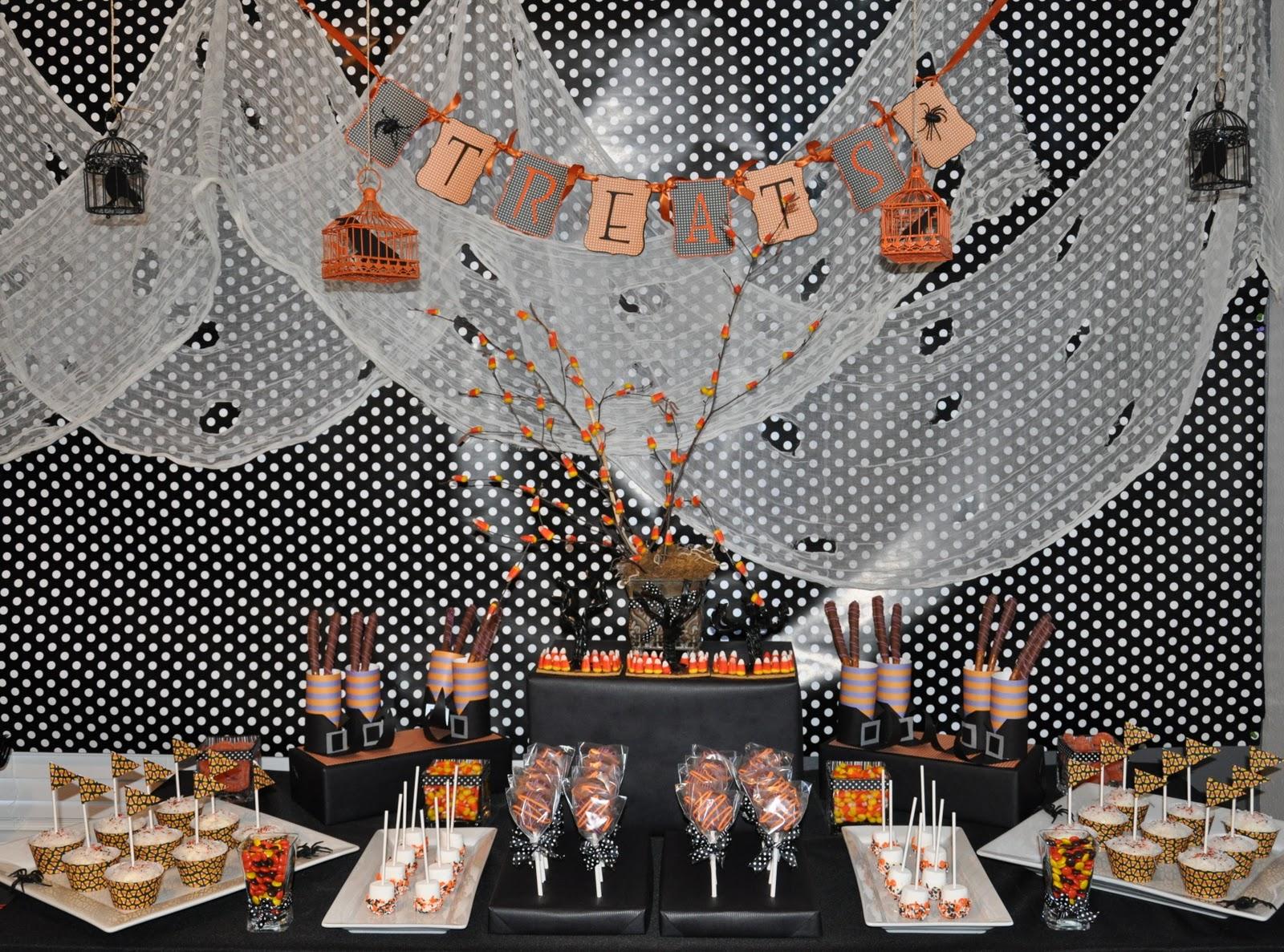 project diy halloween dessert buffet
