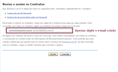 msn email personalizado 2013