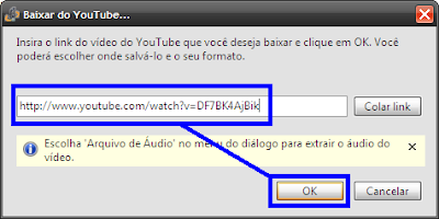 Como baixar videos do youtube no programa songr