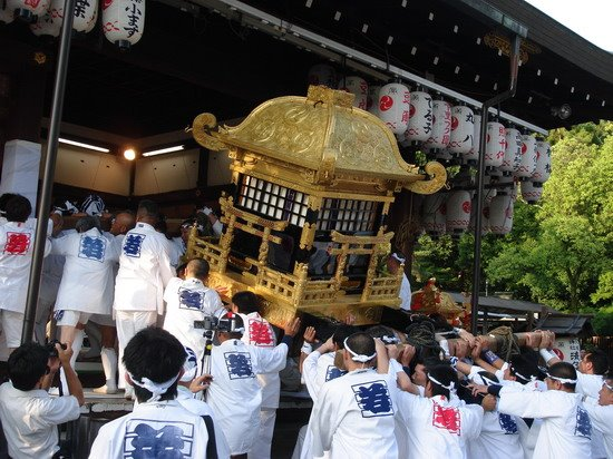 Japanese Mikoshi portable shrine