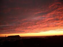 tramonti ...quel che vedo dal mio balcone...